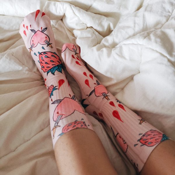 Bleeding Hearts Club Socks